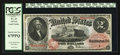 Large Size:Legal Tender Notes, Fr. 43 $2 1874 Legal Tender PCGS Superb Gem New 67PPQ.. ...