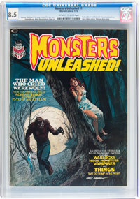 Monsters Unleashed #1-4 CGC-Graded Group (Marvel, 1973-74).... (Total: 4 Comic Books)