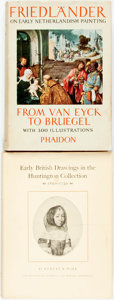 Books:Art & Architecture, [Art History]. Group of Two First Editions. Various publishers and dates. Octavos. Some rubbing, soiling and edgewear to ext... (Total: 2 Items)