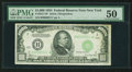 Fr. 2211-B* $1,000 1934 Federal Reserve Note. PMG About Uncirculated 50