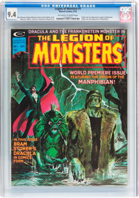 Legion of Monsters #1 (Marvel, 1975) CGC NM 9.4 Off-white to white pages