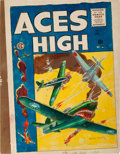 Memorabilia:Comic-Related, EC Aces High #5 Cover Silverprint Proof (EC, 1955)....