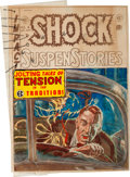 Memorabilia:Comic-Related, EC Shock SuspenStories #4 Cover Silverprint Proof (EC, 1952)....