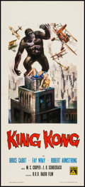 "Movie Posters:Horror, King Kong (RKO, R-1966). Italian Locandina (12.5"" X 27""). Horror.. ..."