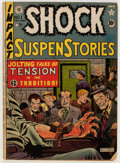 Golden Age (1938-1955):Horror, Shock SuspenStories #1 (EC, 1952) Condition: GD+....