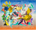 Post-War & Contemporary:Contemporary, FRANK STELLA (American, b. 1936). Spectralia (from theImaginary Places series), 1994. Relief-printed etching,litho...