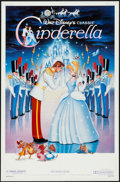 "Movie Posters:Animation, Cinderella (Buena Vista, R-1987). One Sheet (27"" X 41"").Animation.. ..."