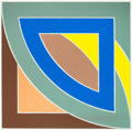 Prints, FRANK STELLA (American, b. 1936). River of Ponds I (from the Newfoundland series), 1971. Lithograph in colors. 3...