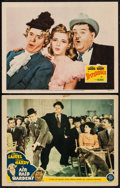 """Movie Posters:Comedy, Air Raid Wardens & Other Lot (MGM, 1943). Lobby Cards (2) (11"""" X 14""""). Comedy.. ... (Total: 2 Items)"""