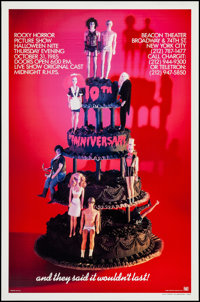 """The Rocky Horror Picture Show (20th Century Fox, R-1985). 10th Anniversary One Sheet (27"""" X 41""""). Rock and Rol..."""