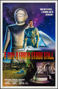 """The Day the Earth Stood Still (20th Century Fox, R-1994). One Sheet (27"""" X 41""""). Science Fiction"""