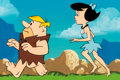 Animation Art:Production Cel, The Flintstones Comedy Hour Betty and Barney RubbleProduction Cel and Background Animation Art (Hanna-Barbera,1972-7... (Total: 2 Items)