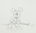 Animation Art:Production Drawing, Mickey's Service Station Mickey Mouse Production DrawingAnimation Art (Walt Disney, 1935). ...