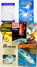 Books:Pulps, [Pulps]. Seven Issues of Miscellaneous Pulps. Various publishersand dates. Original printed wrappers. Some edgewear. Very g...(Total: 7 Items)