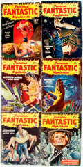 Books:Pulps, [Pulps]. Six Issues of Famous Fantastic Mysteries. 1941-1947. Original printed wrappers. Some edgewear. Very goo... (Total: 6 Items)