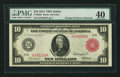 Large Size:Federal Reserve Notes, Fr. 902b $10 1914 Red Seal Federal Reserve Note PMG Extremely Fine 40.. ...