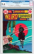 Bronze Age (1970-1979):Western, Weird Western Tales #17 Don/Maggie Thompson Collection pedigree (DC, 1973) CGC NM 9.4 White pages....