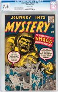Silver Age (1956-1969):Mystery, Journey Into Mystery #59 (Marvel, 1960) CGC VF- 7.5 Off-whitepages....