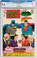 Silver Age (1956-1969):Superhero, World's Finest Comics #172 (DC, 1967) CGC NM+ 9.6 Off-white pages....