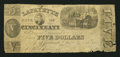 Obsoletes By State:Ohio, Cincinnati, OH- Lafayette Bank of Cincinnati Counterfeit $5 Dec.24, 1845. ...