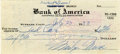 "Autographs:Celebrities, Marilyn Monroe Signed Check Made out Entirely in Her Hand DS""Marilyn Monroe"", 5.75"" x 2.5"", July 23, 1953, drawn onthe..."