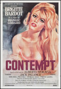 "Movie Posters:Foreign, Le Mepris (Rialto, R-2008). One Sheet (27"" X 40""). Foreign. Alternate Title: Contempt.. ..."