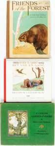 Books:Children's Books, [Children's Books]. Group of Three Children's Books. Variouspublishers and dates. Includes two first editions. Quartos. Pub...(Total: 3 Items)