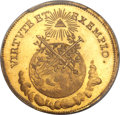 German States:Frankfurt, German States: Frankfurt. Free City - Joseph II gold Coronation1-1/4 Ducat 1764 MS65 PCGS,...