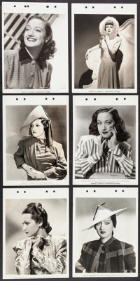 """Dorothy Lamour Lot (Paramount, 1930s-1940s). Keybook Photos (28) (8"""" X 11.25""""). Miscellaneous. ... (Total: 28..."""