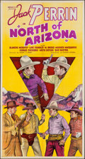 "Movie Posters:Western, North of Arizona (William Steiner, 1935). Three Sheet (41"" X 79""). Western.. ..."
