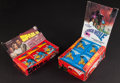 "Non-Sport Cards:Unopened Packs/Display Boxes, 1970's ""Space 1999"" and ""Black Hole"" Unopened Wax Box Pair (2). ..."