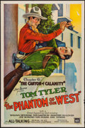 """Movie Posters:Serial, The Phantom of the West (Mascot, 1931). One Sheet (27"""" X 41"""") Chapter 6 -- """"The Canyon of Calamity."""" Serial.. ..."""