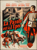 """Movie Posters:Foreign, Pia of Ptolomey (Warner Brothers, 1958). French Grande (45.5"""" X 63""""). Foreign.. ..."""