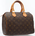 Luxury Accessories:Accessories, Louis Vuitton Classic Monogram Canvas Speedy 25 Bag . ...