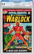 Bronze Age (1970-1979):Superhero, Marvel Premiere #1 Don/Maggie Thompson Collection pedigree (Marvel,1972) CGC NM/MT 9.8 Off-white to white pages....