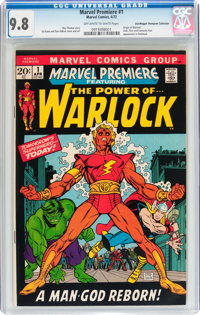 Marvel Premiere #1 Don/Maggie Thompson Collection pedigree (Marvel, 1972) CGC NM/MT 9.8 Off-white to white pages
