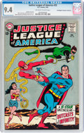 Silver Age (1956-1969):Superhero, Justice League of America #25 Don/Maggie Thompson Collection pedigree (DC, 1964) CGC NM 9.4 Off-white to white pages....