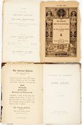 Books:Reference & Bibliography, [John Leech]. C.E.S. Chambers, editor. A List of WorksContaining Illustrations by John Leech. Edinburgh: WilliamBr...