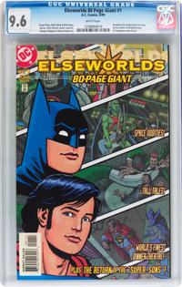Elseworlds 80-Page Giant #1 (DC, 1999) CGC NM+ 9.6 White pages