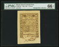 Colonial Notes:Rhode Island, Rhode Island May 1786 £3 PMG Gem Uncirculated 66 EPQ.. ...
