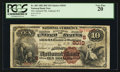 National Bank Notes:Kentucky, Ashland, KY - $10 1882 Brown Back Fr. 485 The Ashland NB Ch. #(S)2010. ...