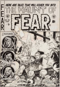 Original Comic Art:Covers, Graham Ingels Haunt of Fear #19 Cover Original Art (EC,1953)....