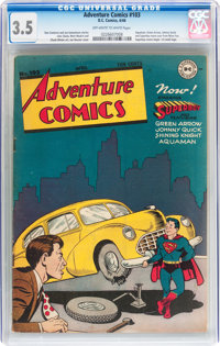 Adventure Comics #103 (DC, 1946) CGC VG- 3.5 Off-white to white pages
