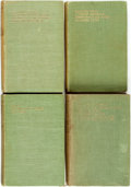 Books:Literature 1900-up, Alfred Noyes. SIGNED. Group of Four First Editions. Edinburgh:William Blackwood, 1920, 1923, 1928. Includes two volumes S...(Total: 4 Items)