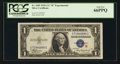 Small Size:Silver Certificates, Fr. 1609 $1 1935A R Silver Certificate. PCGS Gem New 66PPQ.. ...