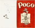 Books:Literature 1900-up, [Comics]. Walt Kelly. INSCRIBED. Two INSCRIBED Early Editions.Pogo [and:] I Go Pogo. New York: Simon a... (Total: 2Items)