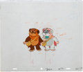 Animation Art:Production Cel, Ewoks Production Cel and Drawing Animation Art(Nelvana/Lucasfilm Ltd., 1985).... (Total: 2 Items)