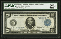 Fr. 984* $20 1914 Federal Reserve Note PMG Very Fine 25 Net
