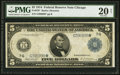 Large Size:Federal Reserve Notes, Fr. 870* $5 1914 Federal Reserve Note PMG Very Fine 20 Net.. ...