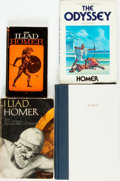 Books:Literature Pre-1900, Group of Four Books by Homer. Various publishers and dates.Includes one mass market paperback. Original publisher's binding...(Total: 4 Items)